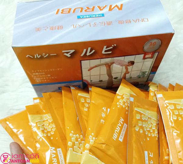 Marubi Collagen Kyuendo được nghiên cứu và điều chế bởi các chuyên gia của Nhật Bản