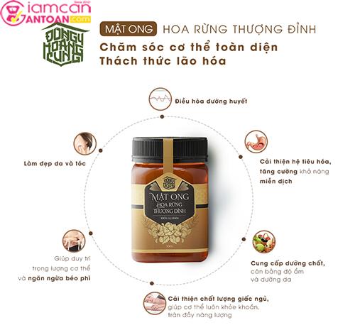 Mật ong rừng này có mùi vị thơm ngon hơn các sản phẩm mật ong cùng loại trên thị trường.