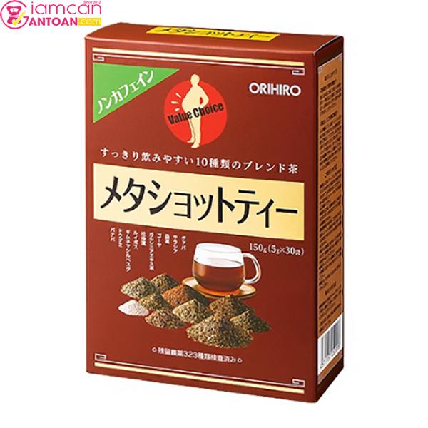 Trà giảm béo bụng Meta Shot Tea Orihiro rất được phụ nữ Nhật Bản tin dùng