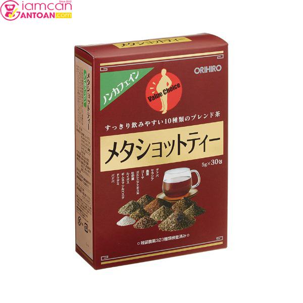 Trà Meta Shot Tea Orihiro ngoài giúp giảm cân an toàn