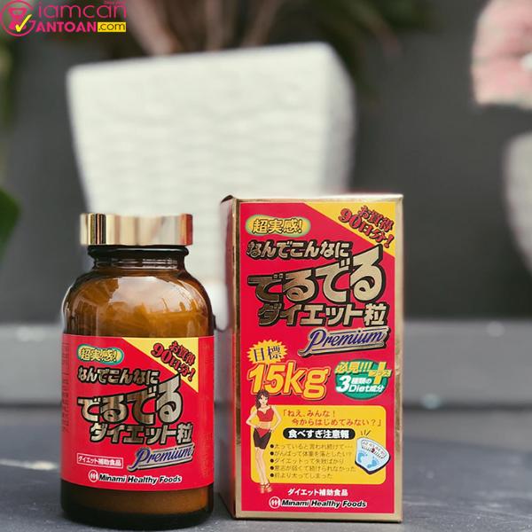 Viên Uống Minami Nhật Bản giúp giảm cân nhanh