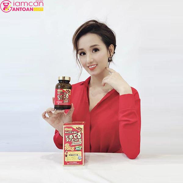 Dv Lã Thanh Huyền rất tin dùng Viên Uống Minami Nhật Bản