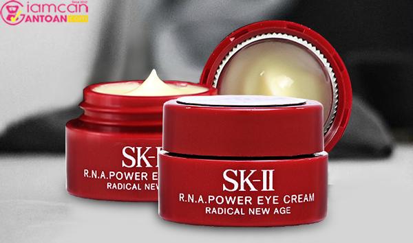 SK-II R.N.A Power Eye Cream Radical New Age mini với công thức chống lão hóa da