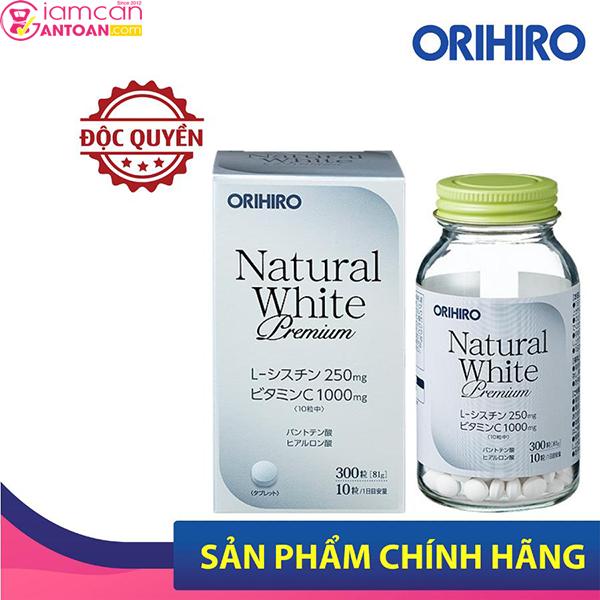 Viên Uống Hỗ Trợ Trắng Da Natural White chứa nhiều dưỡng chất tốt cho làm da