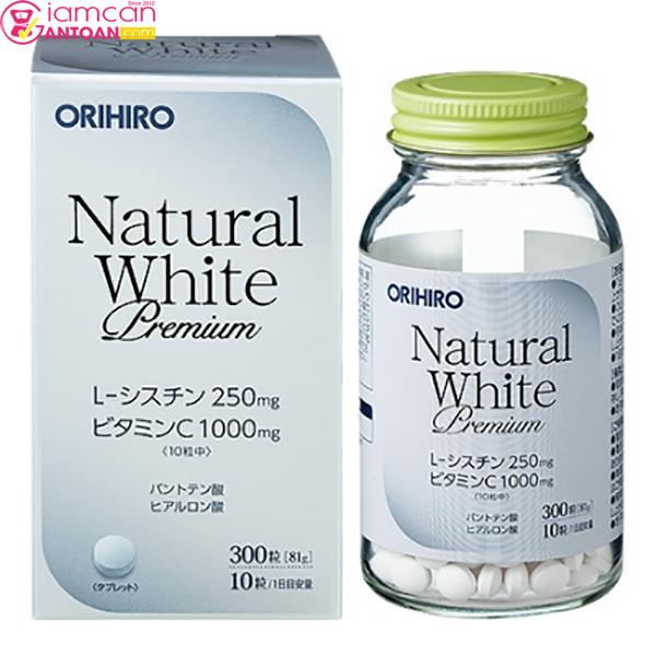 Kiên trì uống Viên Uống Hỗ Trợ Trắng Da Natural White bạn sẽ cảm nhận sự thay đổi rõ rệt