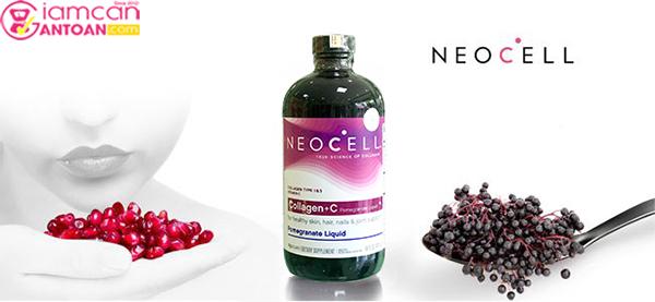 Nước Neocell Collagen+C Pomegranate Liquid phù hợp chị em sau 25 tuổi