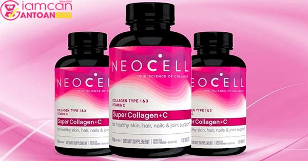 Neocell Super Collagen+C Type 1&3 được thị trường Mỹ tin dùng