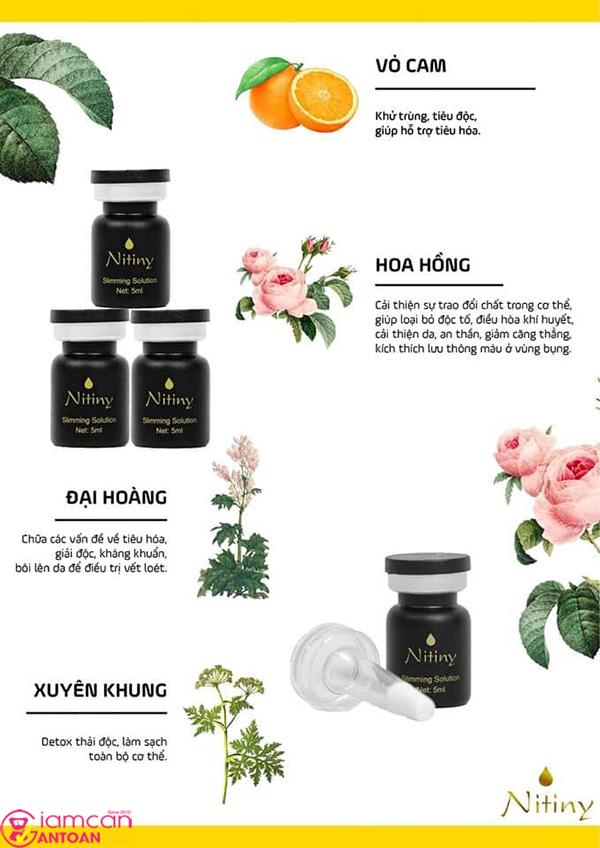 Nitiny là thương hiệu nổi tiếng Hàn Quốc