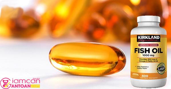 Omega 3 Fish Oil Kirkland là viên dầu cá rất nổi tiếng của Mỹ
