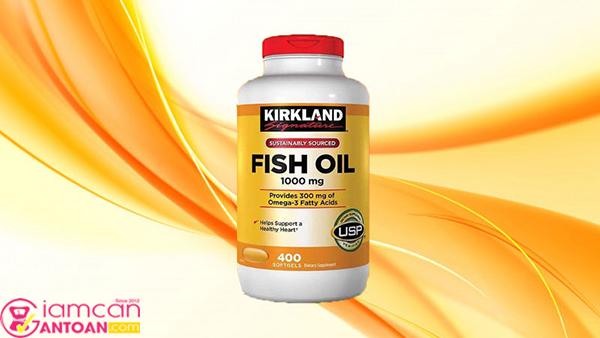 Omega 3 Fish Oil giúp ăn ngon, ngủ tốt, giúp sáng mắt, đẹp da.