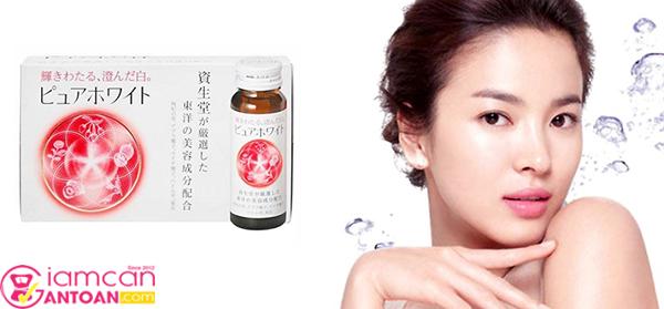 Shiseido Pure White dùng 1 lọ/ngày sẽ đạt hiệu quả làm đẹp cao