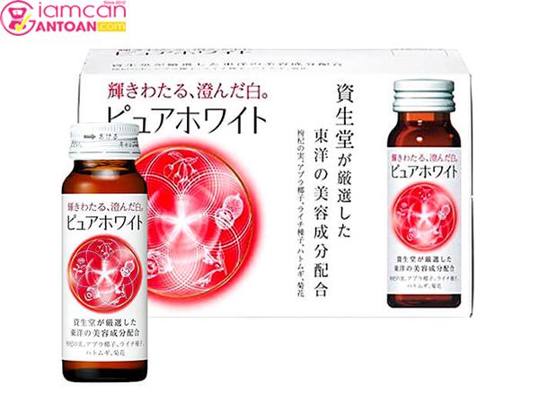 Pure White Shiseido Collagen Nhật Bản giúp làm đẹp hữu hiệu