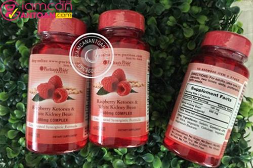 Raspberry Ketones & White Kidney Bean được chiết xuất từ quả mâm xôi