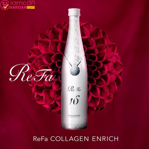 Refa 16 cung cấp hàm lượng collagen lên đến 160.000 mg rất dễ uống