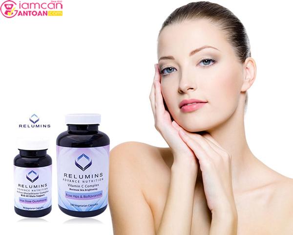 Relumins Advance White 1650mg giúp dưỡng da trắng sáng toàn thân
