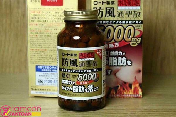Rohto 5000mg chứa nhiều dưỡng chất và thành phần an toàn cho người dùng