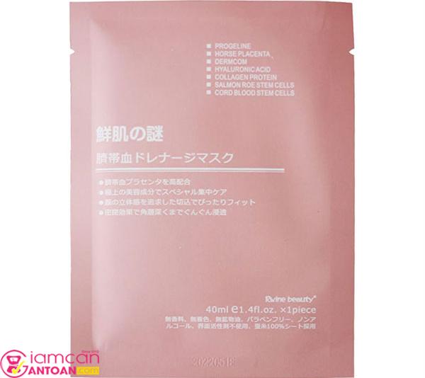 Mặt nạ này dùng được cho tất cả mọi loại da và an toàn với da nhạy cảm.