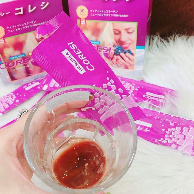 Silk Collagen Coresi Herusea bảo vệ có khả năng miễn dịch, bảo vệ tim mạch