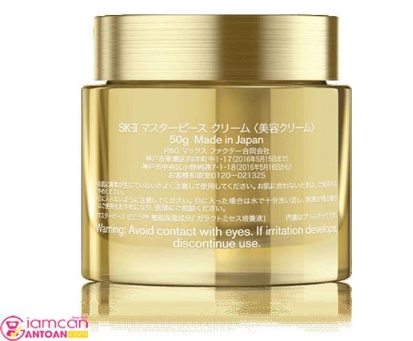 SK-II Masterpiece Pitera Cream chứa vô cùng dưỡng chất