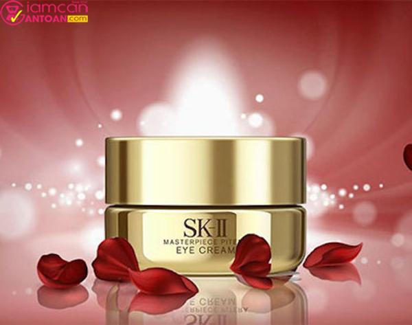 SK-II Masterpiece Pitera Eye Cream giúp căng da vùng mắt chống xạm da