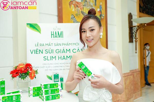Viên sủi giảm cân Slim Hami được dv Phương Oanh tin dùng