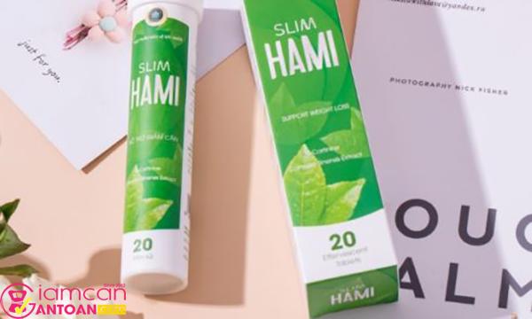 Viên sủi giảm cân Slim Hami chứa nhiều dưỡng chất an toàn
