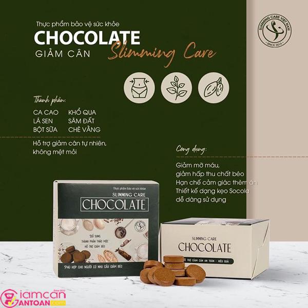 Kẹo Socola Giảm Cân Slimming Care Chocolate là sản phẩm cải tiến thế hệ mới