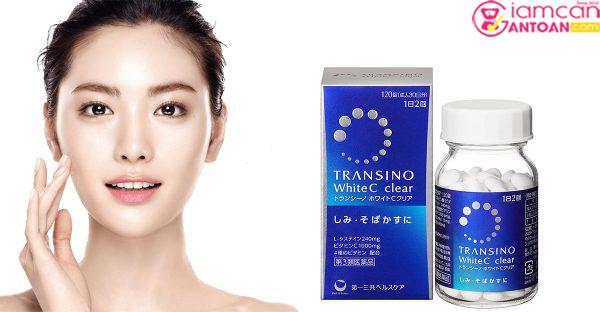 Transino White C Clear giúp làm đẹp sâu từ bên trong