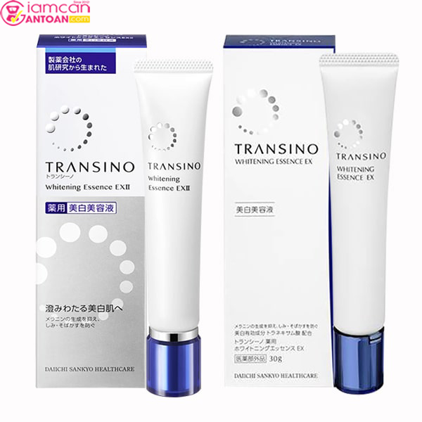 Transino Whitening Essence EX 30g giúp ức chế sự hình thành sắc tố melanin