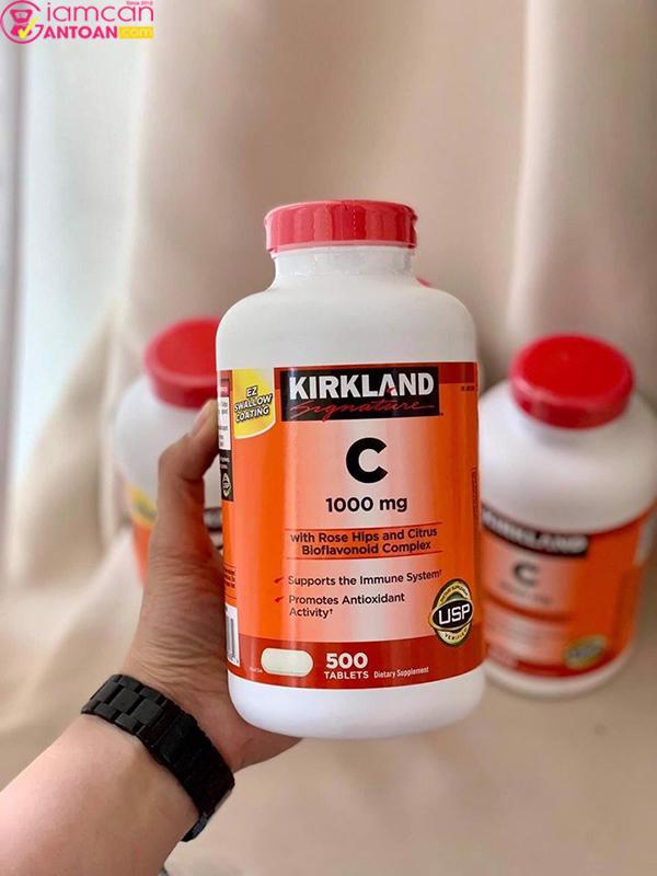Vitamin C 1000mg Kirkland rất tốt cho sức khỏe cũng như sắc vóc của người dùng