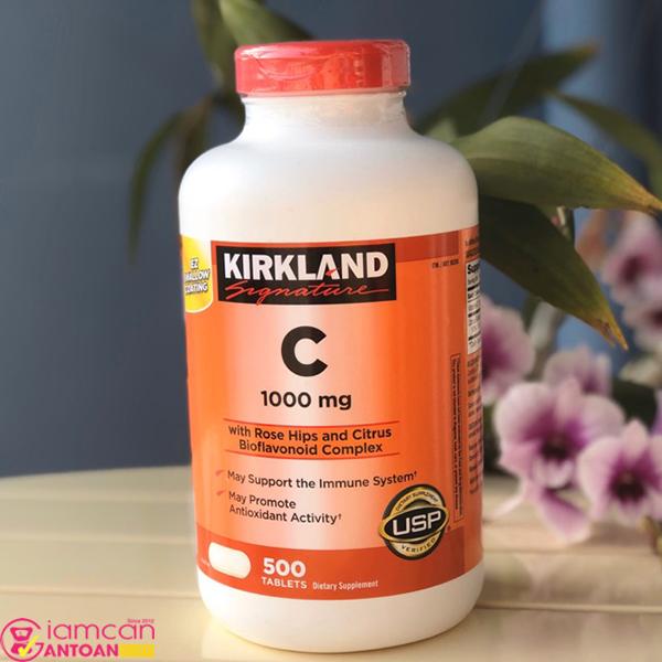 Vitamin C 1000mg Kirkland Signature hiện đang được rất nhiều người Việt tin dùng