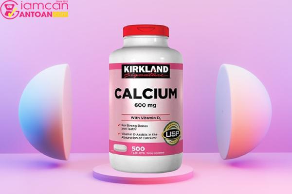 Kirkland Calcium 600mg được sản xuất trên dây chuyền công nghệ hiện đại của Mỹ