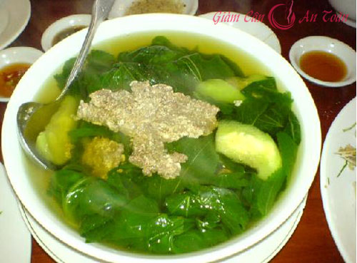 mon canh giam can