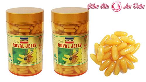 sua ong chua royal jelly 1450mg