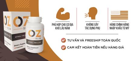 Thuốc Giảm Cân OZ Slim mẫu mới